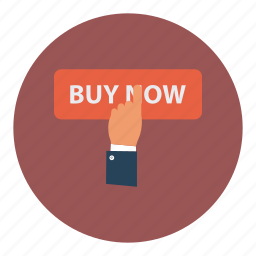 buy, finger, hand, now, payment, sale, shopping icon