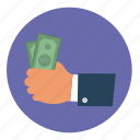 business, cash, financial, money, payment icon