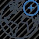 add, earth, planet, world