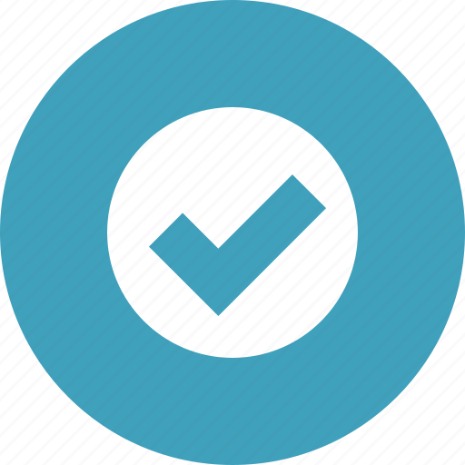accept, check, checkmark, complete, done, yes icon