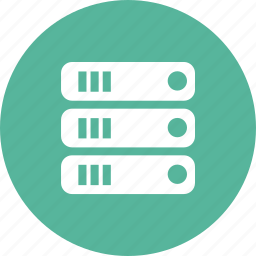 computer, connect, data, database, servers, storage, store icon