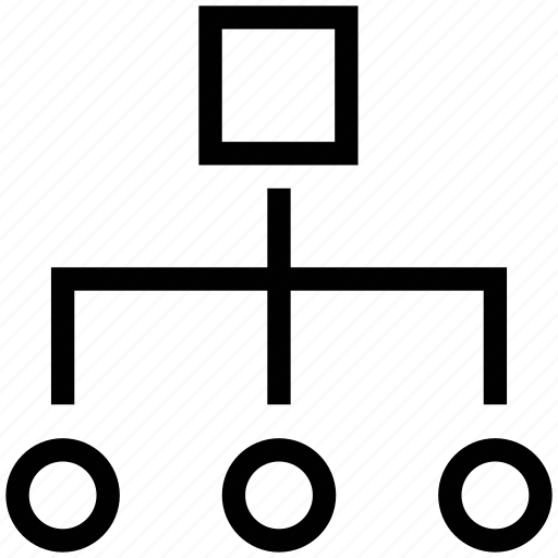hierarchy, network hierarchy, network hierarchy structure, network topology, power structure icon