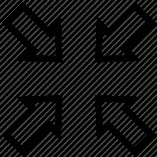 decreasing, decry, minimize, minimizing, reducing icon