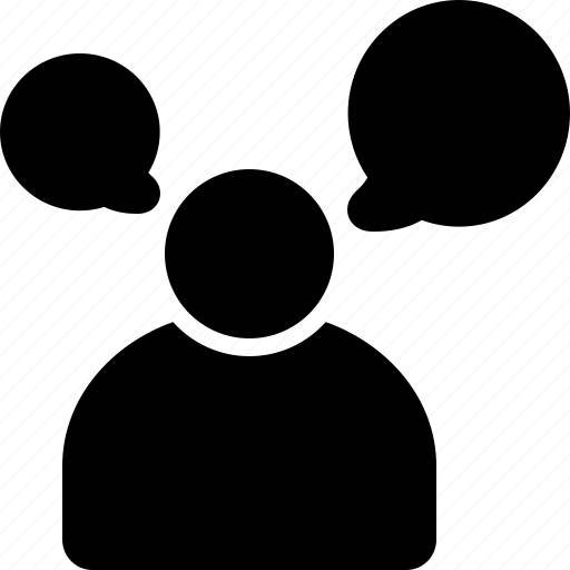 Communication, man, speaking, talking icon - Download on Iconfinder