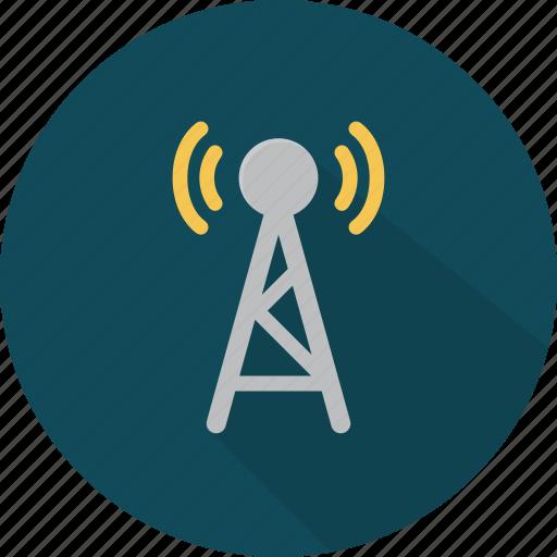 broadcasting, communication, media, network, news, radio, television icon