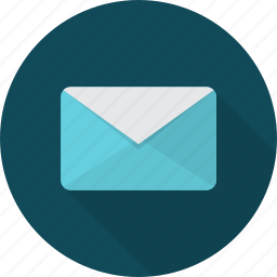 communication, mail, message, network, send, subscription icon