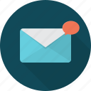 communication, mail, network, new, new mail