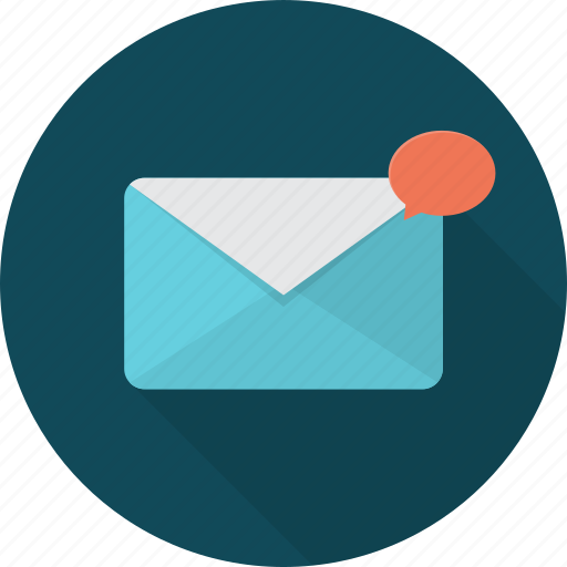 communication, mail, network, new, new mail icon