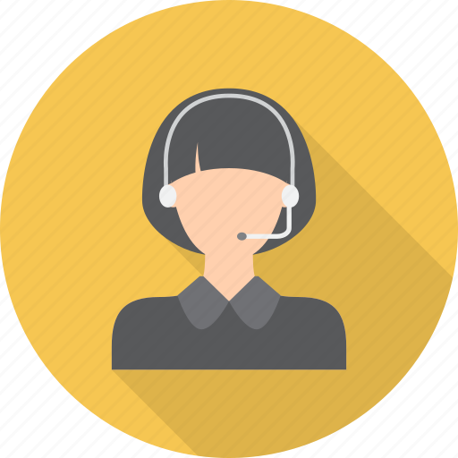communication, customer, headset, information, network, operator, service icon