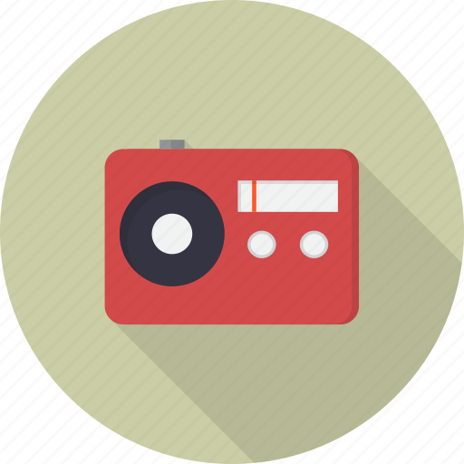 communication, music, network, radio, sound, speaker, station icon