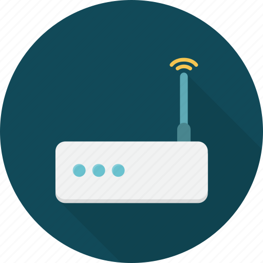 communication, internet, modem, network, router, technology icon