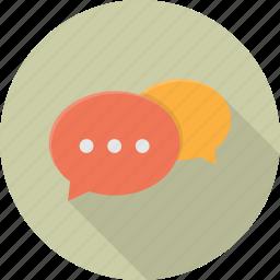 chat, communication, network, speak, speech, talk, talking icon