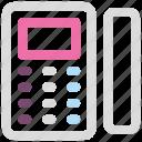 handset, office, phone, telephone icon icon
