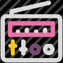 antenna, audio, radio, signal icon icon