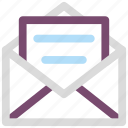 air mail, email, letter, mail icon icon