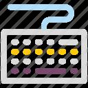 computer board, computer keyboard, control key, hardware, keyboard icon icon