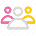 business, group, team icon icon