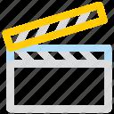 board, director, movies, video icon icon
