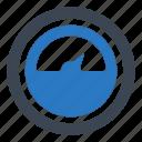 bandwidth, control, meter icon