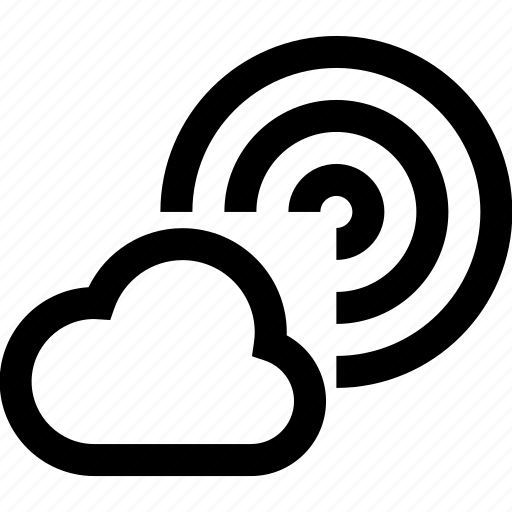 cellular, cloud, connection, internet, network, signal, wireless icon