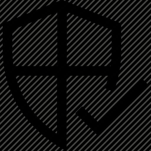 firewall, internet, security, shield, virus icon