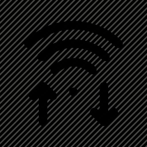 hotspot, rss, signal, wifi, wireless icon