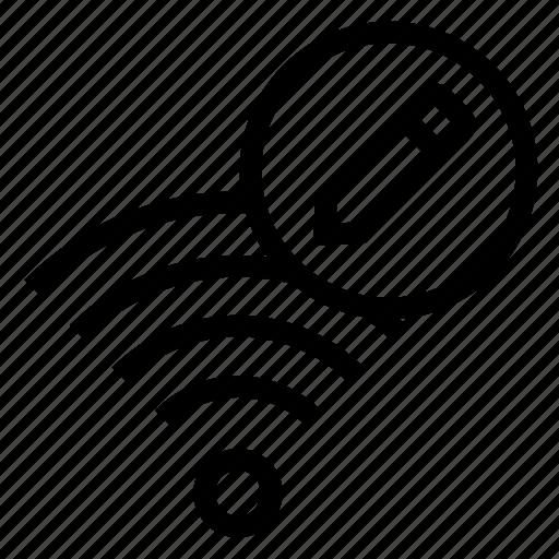 edit, rss, signal, wifi, write icon