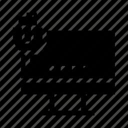 lan, lcd, monitor, port, usb icon