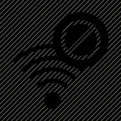 ban, block, rss, wifi, wireless icon