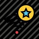 favorite, rss, signal, star, wifi