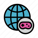 earth, game, global, play, world icon