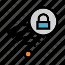 lock, rss, signal, wifi, wireless