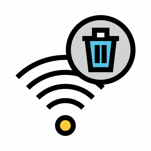 Delete, rss, signal, trash, wifi icon - Download on Iconfinder