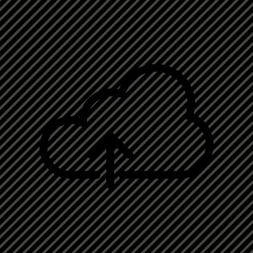 Cloud, database, server, storage, upload icon - Download on Iconfinder
