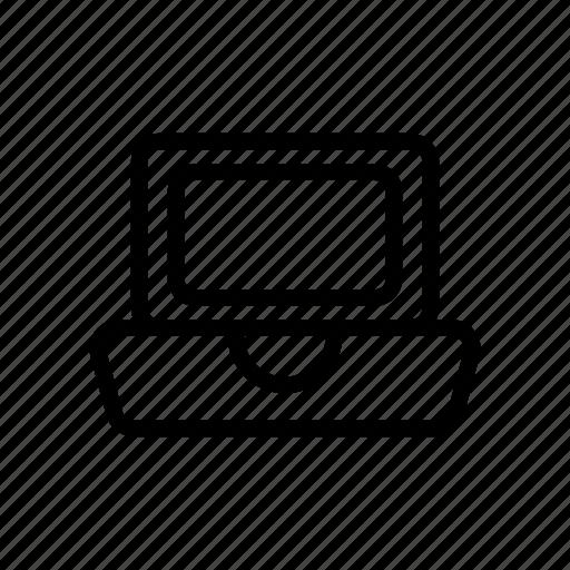 computer, device, gadget, laptop, responsive icon