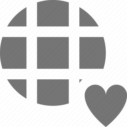 favorite, heart, like, network icon