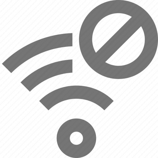 block, signal, stop, wifi icon
