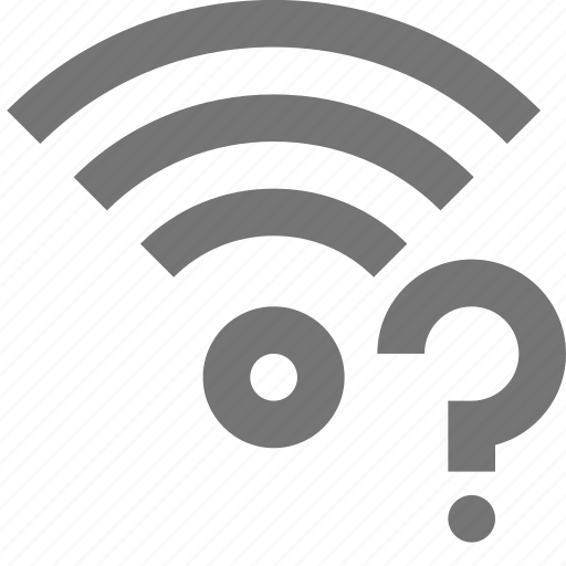 help, question, signal, wifi icon