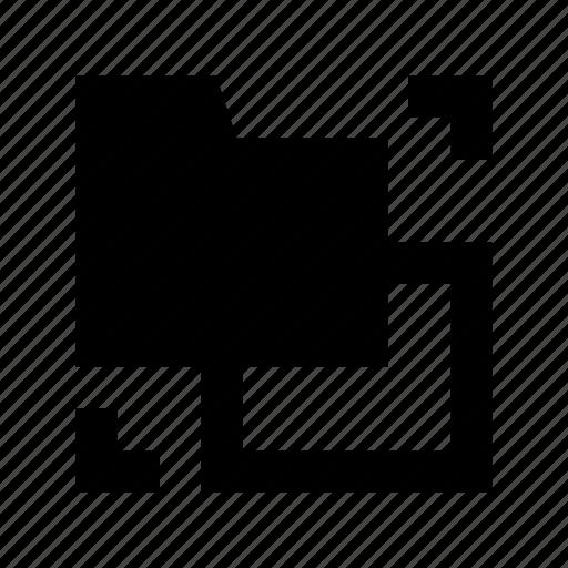 data folder, folder exchange, folder share, network folder, transfer folder icon