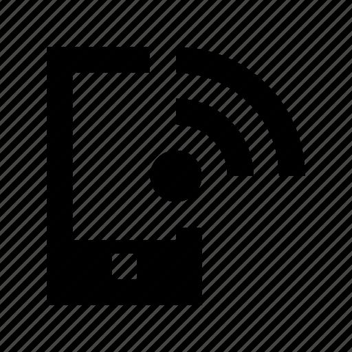 mobile, mobile wifi, wifi connection, wifi signals, wireless internet icon