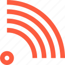 connection, coverage, level, network, signal, status, wifi, wireless icon