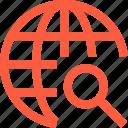 global, internet, network, scan, search, web, worldwide, www icon