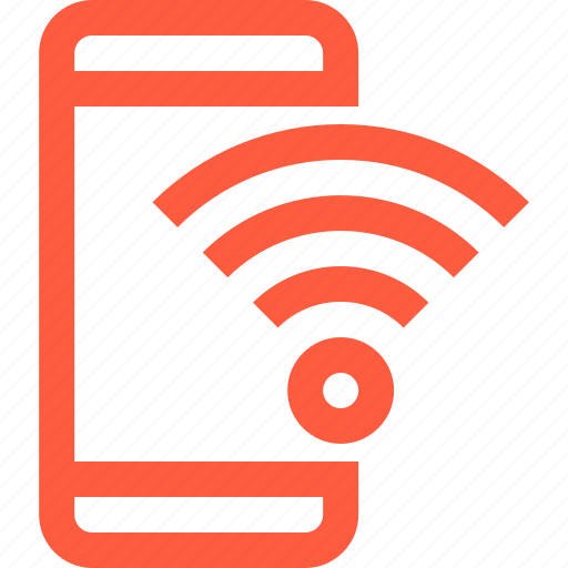 connection, hotspot, mobile, network, phone, signal, smartphone, wifi icon