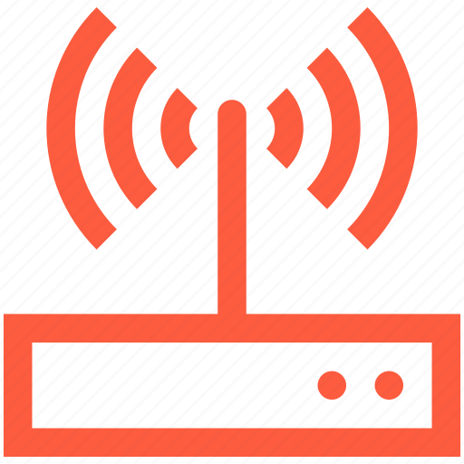 connection, hotspot, internet, network, router, signal, wifi, wireless icon