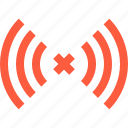 connection, error, lost, network, out, signal, wireless icon
