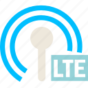 cell, conection, lte, net, network, wifi icon
