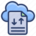 cloud computing, cloud data, cloud data hosting, cloud download, cloud storage, cloud upload icon