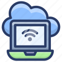 cloud computing, cloud data share, cloud hosting, cloud network, cloud technology, online cloud network icon