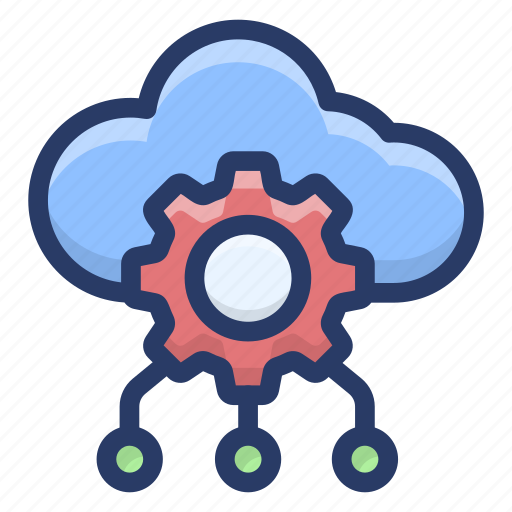 cloud computing, cloud configuration, cloud hosting, cloud preference, cloud setting icon