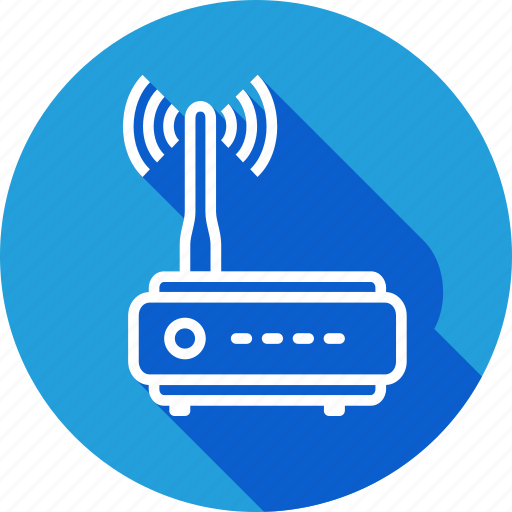 Antenna, double, internet, online, router, web, wifi icon - Download on Iconfinder